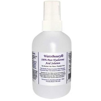 Anti Aging Wrinkle Filler of 100% Pure Hyaluronic Acid for Face - No Alcohol, No Parabens, Vegan & USA - HA Is Not a Harsh Acid, HA is Present in Every Area of Our Body and Simply Decreases with Age Causing Sagging, Wrinkles, Dry Skin & Fine Lines