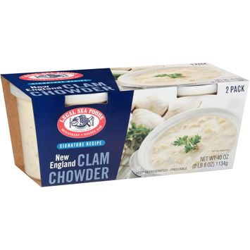 Legal Sea Foods Signature Recipe New England Clam Chowder 2 ct Sleeve