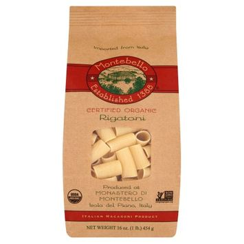 Spruce Foods Montebello, Pasta Rigatoni Org, 16 Oz (Pack Of 12)