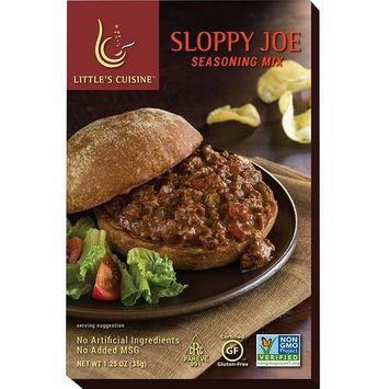 Little's Cuisine Sloppy Joe Seasoning Mix (Case of 8)