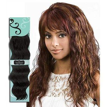 BOBBI BOSS Indi Remi OCEAN WAVE Virgin Hair, 16 Inches, 1B-Off Black