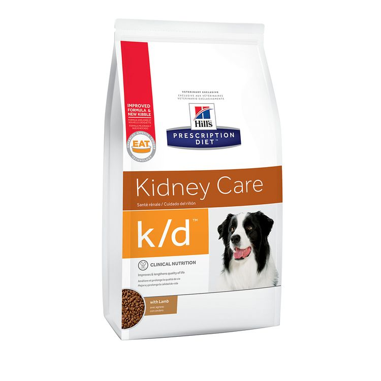 Hill's Prescription Diet Hills Prescription Diet k/d Canine Kidney Care with Lamb Dry Food