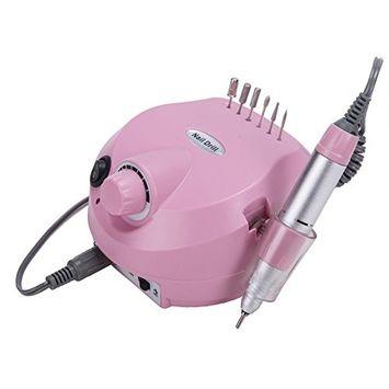 CO-Z Professional Electric Nail File Drill Machine Set Beauty Salon Grooming Kit Manicure & Pedicure Kit 30000RPM Super Quiet