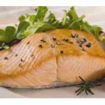 Trident Seafoods Skinless Boneless Chum Salmon - Premium Portion, 20 of 8 Ounce Pieces, 10 Pound -- 1 each.