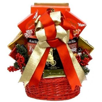Gift Basket Drop Shipping ChMa-Med Chocolate Madness, Holiday Gift Basket - Medium