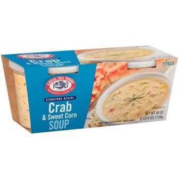 Legal Sea Foods Signature Recipe Crab & Sweet Corn Soup