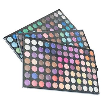 Pevor 252 Colors Flashing and Matte Eyeshadow Palette That Satisfies Your Party's Need for A Multi-Colored Cosmetic Suit That Is Easy to Stain with Durable