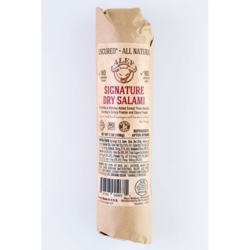 Uncured All Natural Signature Dry Salami (2 units 7 oz. each)