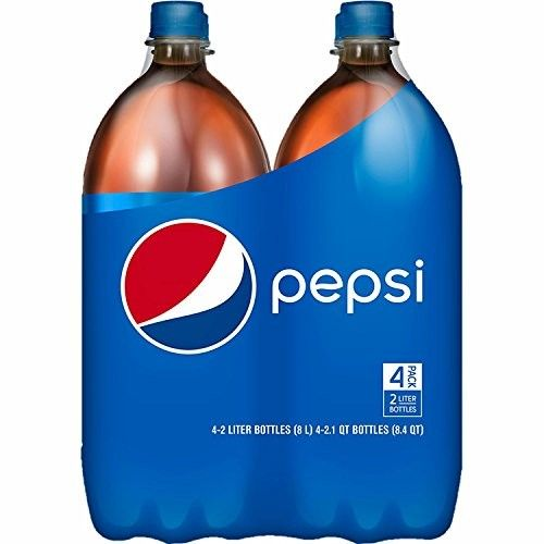 Pepsi Soda, 2 Liters, 4 Bottles