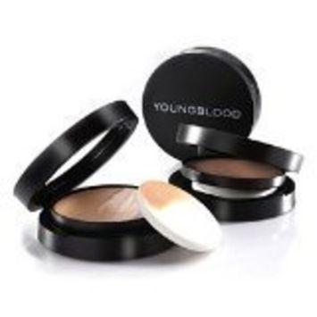 Youngblood Mineral Radiance Creme Powder Foundation - # Coffee - 7g/0.25oz