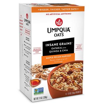 Umpqua Oats: Maple Pecan Harvest