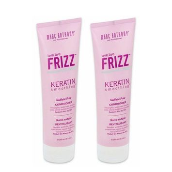 Marc Anthony True Professional Bye Bye Frizz Keratin Smoothing Conditioner 8.4 fl. oz (250 ml) (2 Pack)