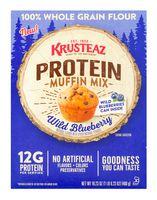 Krusteaz Protein Muffin Mix Wild Blueberry