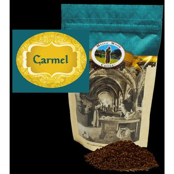 Mystic Monk Coffee - Carmel - Flavored Ground Coffee