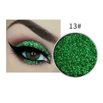 DZT1968 1pc long-lasting water-tight silky shine color Shimmer eye shadow palettes