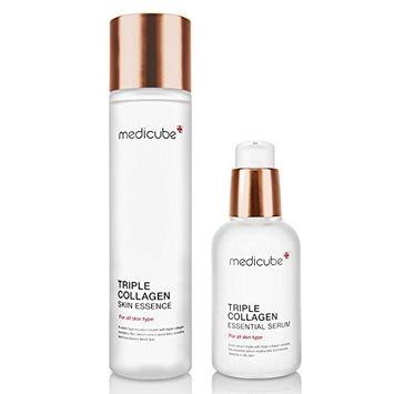 Medicube Triple Collagen Set (Essential Serum 50ml+ Skin Essence140ml )