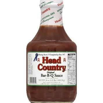 Head Country Bar-B-Q Sauce, Original, 40 Ounce (Pack of 6)