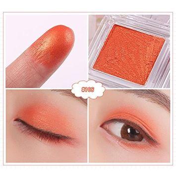 DZT1968 17 Single Color Water-Resistant Makeup Eyeshadow Palette Shimmer Matte Eye Shadow Cosmetics Beauty New