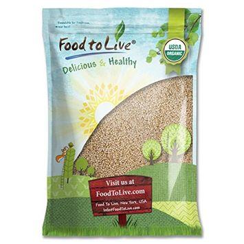 Food To Live Organic Royal White Quinoa (Raw, Whole Grain, Non-GMO, Bulk) (10 Pounds)