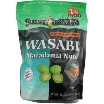Island Princess Wasabi Macadamia Nuts, 20-ounce (Resealable Bag)