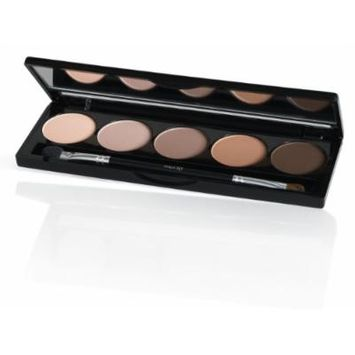 Isadora Eye Shadow Palette 50 Matte Chocolates 7.5 g / .26 oz. Fragrance free. Clinically tested.