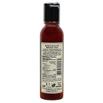 Italian Natural Flavored Pomegranate Balsamic Glaze, 5.1 Ounces, 2 Per Case [Pomegranate]
