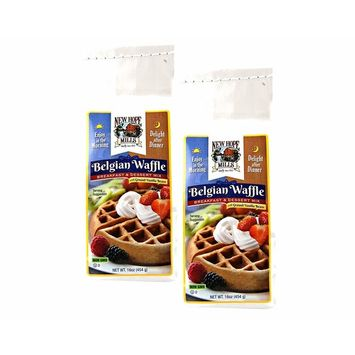 Hope Mills Easy To Make Belgian Waffle Mix- Two 16 oz. Bags