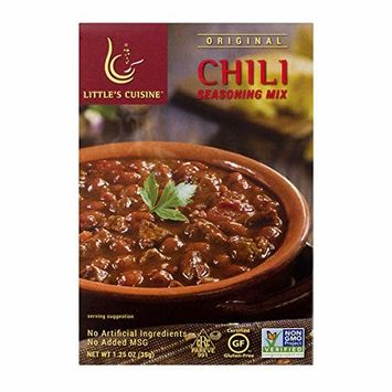 Little's Cuisine Original Chili Seasoning Mix (Case of 4)