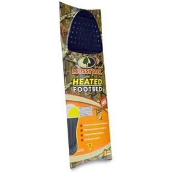 Heat Factory Men's Flat Footbed with Foot Heat Warmer Pocket, 1 Pair, Mossy Oak