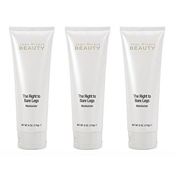 JOAN RIVERS The Right To Bare Legs 6-Ounce Moisturizer (3-Pack)