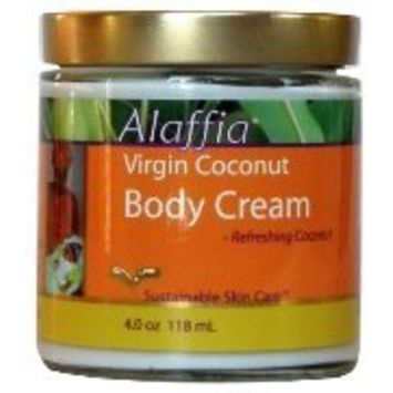 Virgin Coconut oil Cream Ref Coconut-118 ml Brand: Alaffia