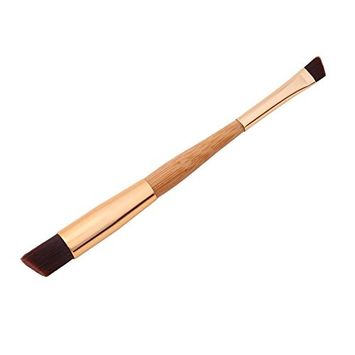 FUNOC Oblique Top Makeup Cosmetic Powder Foundation Novice Eyebrow Brush Tools