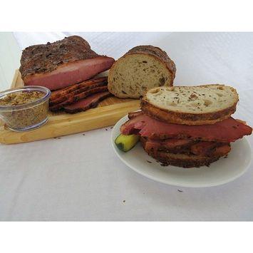 Vienna Beef Fumare Meats Montréal-Brand Smoked Pastrami Brisket (Approx 7-10LBS)