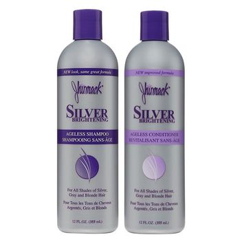 Jhirmack silver brightening Ageless shampoo and conditioner set 12 oz