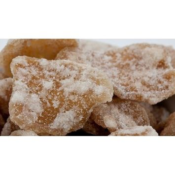 Chef Cherie's Ginger Crystals in a 1 Pound Plastic Bag