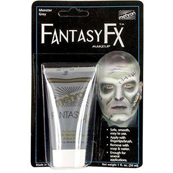 Mehron Fantasy FX Liquid Makeup - MONSTER GREY 1 oz.