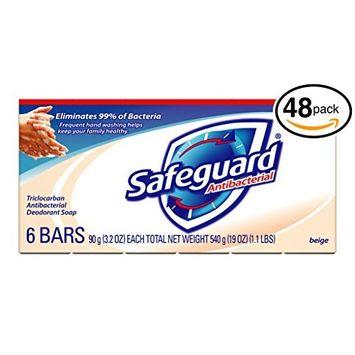 Reg Antibacterial Bath Soap, Beige, 4oz Bar, 48/Carton