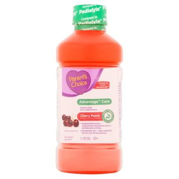 Parents Choice Parent's Choice(tm) Advantage(tm) Care Cherry Punch Pediatric Oral Electrolyte Solution, 1 l