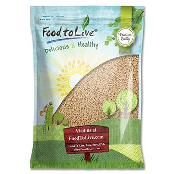 Food To Live ® Pearl Barley (Hulled) (15 Pounds)