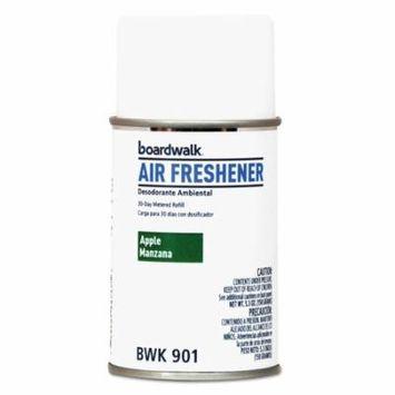 Boardwalk Metered Air Freshener Refill, Apple Harvest, 5.3 oz Aerosol, 12/Carton