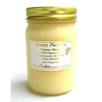 Creamy Mango Honey by Honey Pacifica - Raw Honey with Natural Mango Flavor - Unheated & Unprocessed