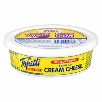 Tofutti Milk Free Better Than Cream Cheese Garlic Herb, 8 oz