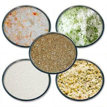 Chef Cherie's Sea Salt Sampler Gift Set - Contains 5 2 oz.Jars