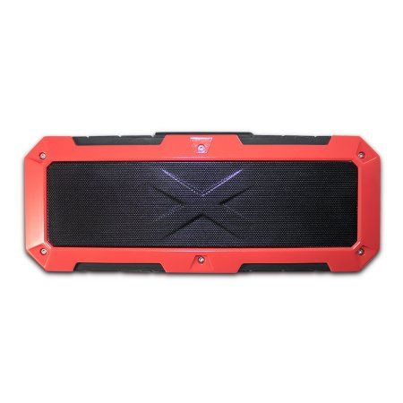 TechComm A13 IP67 Waterproof Bluetooth Speaker with Dual 10W Speakers, Powerful Battery and Extra-durable Rubber Case