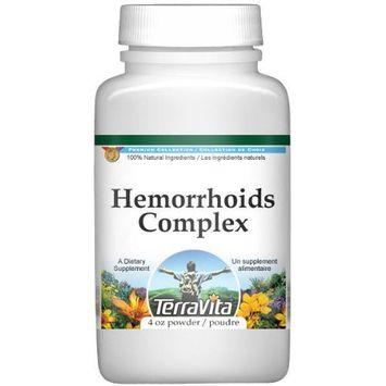 Hemorrhoids/Bleeding Piles Complex Powder - Horse Chestnut, Cayenne, Witch Hazel and More (4 oz, ZIN: 517074)