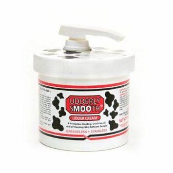 4 Pack Udderly Smooth Body Cream Original Formula Jar Pump 10 Ounce Each