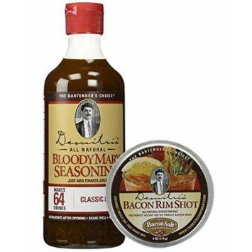 Demitri's - Bloody Mary Seasoning Mix & Bacon RimShot, Spiced Rim Salt
