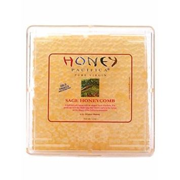 Honey Pacifica Raw Sage Honeycomb Square, 12 oz.
