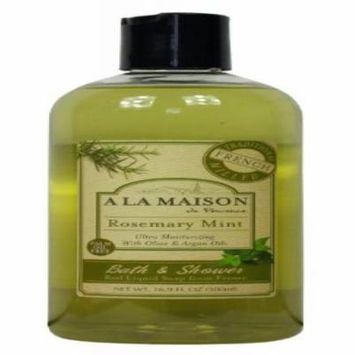 A La Maison Shower Gel, Rosemary Mint, 16.9 fl oz