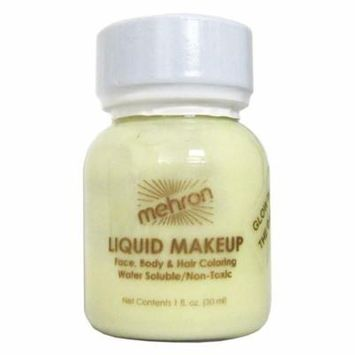 Mehron Glow In The Dark Liquid Makeup